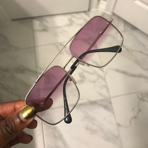 Accessories - Purple and clear shades